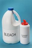 порошок bleach очищая Стоковое Изображение RF