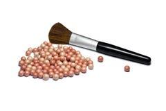 порошок cosmetology Стоковая Фотография RF
