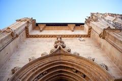 Портал собора Oviedo Стоковое Изображение RF