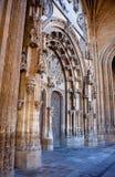 Портал собора Oviedo Стоковое Фото