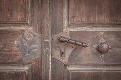 портал церков старый Стоковое Изображение
