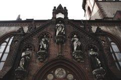 Портал церков Стоковое фото RF