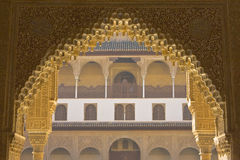 Портал Alhambra Стоковые Фотографии RF