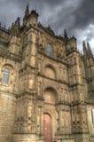 портал plasencia hdr собора Стоковое Изображение