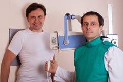Портативная лаборатория рентгеновского снимка Стоковое фото RF