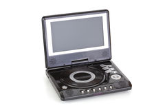 портативная машинка DVD-плеер Стоковое Изображение
