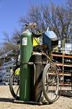 Портативная тележка сварщика газа Стоковое Фото