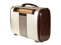 портативное радио ретро Стоковое фото RF
