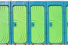 портативные туалеты Стоковое Фото