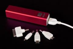 Портативный банк силы для поручая мобильных устройств Стоковые Изображения RF