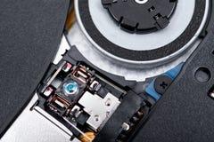 Портативный, внешний компактный диск, писатель читателя dvd стоковое изображение rf