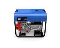 Портативный генератор изолированный на белой предпосылке Стоковое Изображение