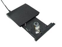 Портативный привод Cd/Dvd внешний Стоковое Изображение RF