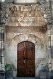 Портал дверей старого минарета в Крыме Стоковая Фотография RF