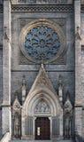 Портал входа базилики Питера и Пола в Праге стоковое изображение rf