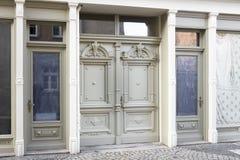 портал входа исторический Стоковое Изображение