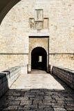 Портал замка Стоковые Изображения RF