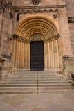 Портал на имперском соборе в Бамберге, Германии Стоковое Фото