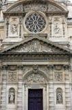 Портал церков Сент-Этьен du Mont, Париж Стоковая Фотография