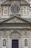 Портал церков Сент-Этьен du Mont, Париж Стоковые Изображения RF