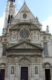 Портал церков Сент-Этьен du Mont, Париж Стоковая Фотография RF