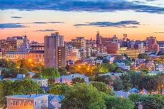 Портленд, Мейн, горизонт США стоковая фотография rf