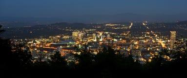 Портленд панорамный Стоковое Фото