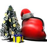 Портмоне Christmas1 Стоковое Изображение RF