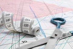 портной оборудования dressmaker профессиональный Стоковые Фотографии RF