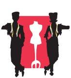 портной серии работы dressmaker Стоковые Фотографии RF