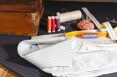 Портняжничанная рубашка Стоковые Фото