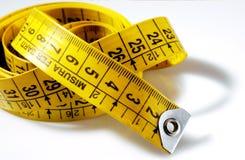 портняжничать измерения стоковое изображение