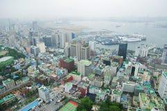 Портовый город Busan Стоковая Фотография RF
