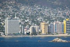 Портовый район Акапулько стоковая фотография