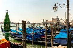 Портовый район, Венеция Италия Стоковые Фотографии RF