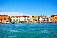 Портовый район в Венеции Стоковые Фото
