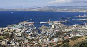 портовый район городка плащи-накидк s Стоковое Изображение RF