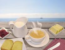 Портовый район завтрака Стоковые Изображения