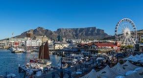 Портовый район Кейптаун Стоковое Изображение RF