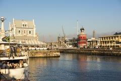 Портовый район Кейптаун Стоковые Изображения RF