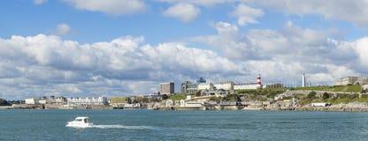 Портовый район Плимута, юг Девон, Великобритания стоковое изображение