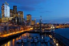 Портовый район Сиэтл Стоковая Фотография