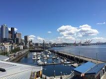 Портовый район Сиэтл Стоковая Фотография RF