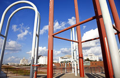 портовый район структуры Baton Rouge Стоковая Фотография
