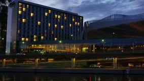 Портовый район центра конгресса в Стокгольме, Швеции