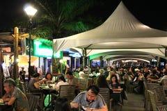 Портовый район Kota Kinabalu Сабах Малайзия стоковые фотографии rf