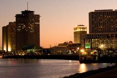 портовый район New Orleans стоковое изображение rf