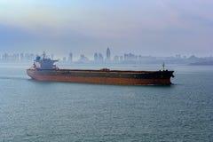 Портовый район Qingdao стоковое изображение rf
