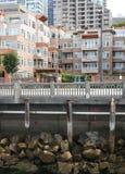 портовый район seattle Стоковая Фотография