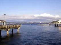 портовый район tacoma Стоковые Фотографии RF